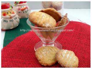 Bolinhas Goan cookies