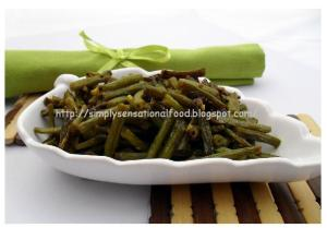 Goan style green beans